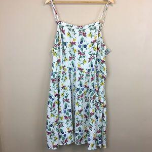 Old Navy Fit & Flare Floral Dress